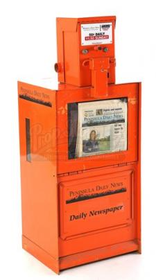 Peninsula Daily News Dispenser