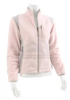 Angela Weber's Pink Fleece Jacket