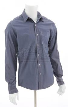 Edward Cullen's Grey Button-Up Dress Shirt