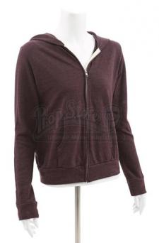 Bella Swan's Maroon Hooded Sweatshirt