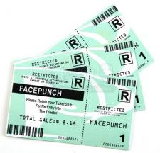 Face Punch Movie Tickets
