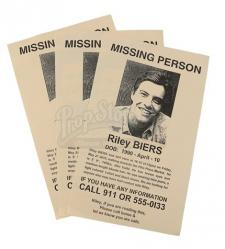 Riley Biers Missing Person Flyers