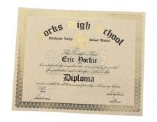 Eric Yorkie's Unrolled High School Diploma