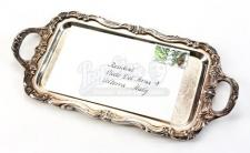 Aro's Wedding Announcement and Tray