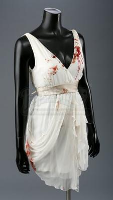 Renée Dwyer's Bloodstained Nightmare Wedding Dress