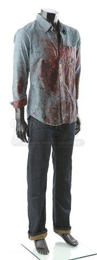 Edward Cullen's Bloodstained Delivery Costume