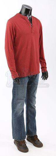 Seth Clearwater's Christmas Celebration Costume